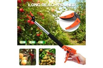 Aluminum Long Reach Pruner Cutter Garden Pruning Shear Tool 0.6m