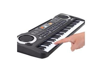 [53.5x17x5cm] 61 Key Digital Music Electronic Keyboard Piano Early Educational Tool Gift for Kids(Plug:USB)