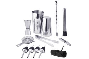 cocktail set Bag tool Cocktail shaker set(13Pcs American Style)