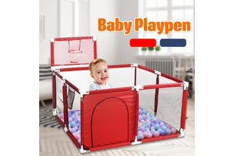 Foldable Baby Toddler Kids Playpen Play Pens Room Divider Heavy Duty Safe 66CM
