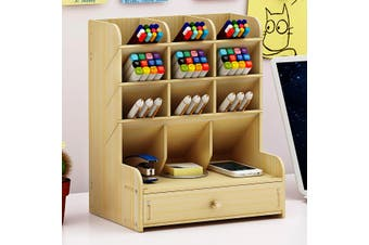 Pen holder creative storage rack multi-function storage box desk storage pen storage stationery storage