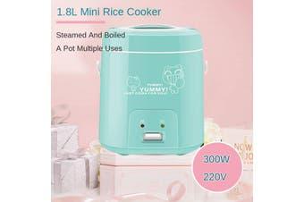Smart Mini Rice Cooker Home Student Small Multifunctional Rice Cooker Mini 1.8L Boiled Rice/ Soup/ White Fungus/Yogurt/ Porridge