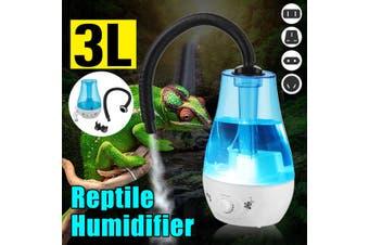 3L Amphibians Reptile Humidifier Reptile Fogger Extension Tube Terrarium AU Plug