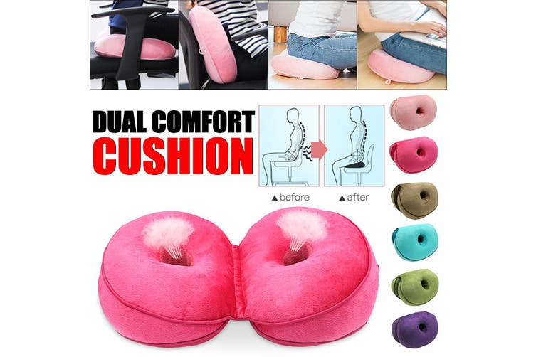 Dual Comfort Cushion Lift Hips Up Seat Cushion FREE SHIPPING 35% OFF US HOT 2019