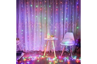 10M LED Fairy String Light 8 Modes Outdoor/Indoor Xmas Party Wedding Decor-Colourful