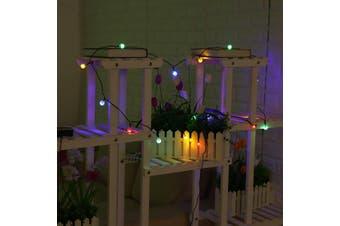 20 LED 5M Solar Powered LED Bulb Fairy String Light Outdoor Garden Partyy-Colourful
