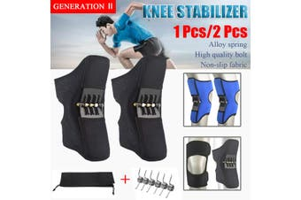 Patella Booster Spring Knee Brace Stabilizer Pad Lift Joint Support(black,1 PC)