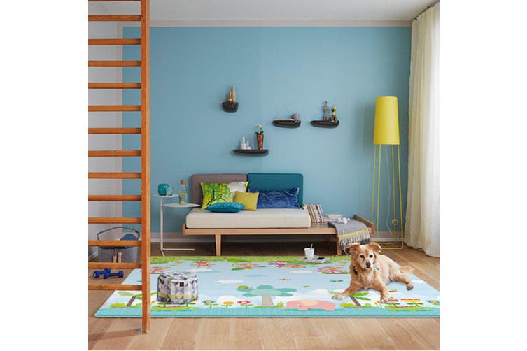 200x180cm Foldable Baby Crawling Thick Play Cover Mat Game Rug Floor Carpet