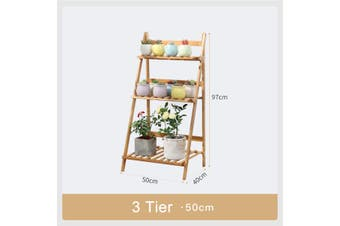 Garden In/Outdoor Decor 100cm x40cm x97cm Plant Stand Flower Pot Wooden Rack Shelf Organizer Home