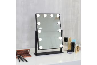 35.5x47.3 cm Hollywood Makeup Mirror With Light LED Bulbs Vanity Beauty Dressing Room