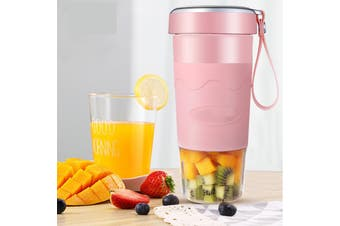 Juicer Outdoor Accompanying Cup Portable Juicer Charging Wireless Juice Cup Juice Blender 400ml