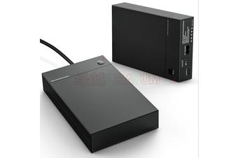 2.5/3.5 inch SATA USB 3.0 External Hard Drive Enclosure Caddy Case HDD Disk Box(AU Plug)