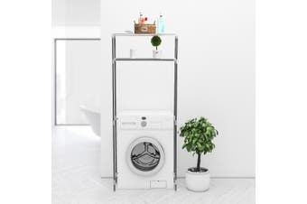 Bathroom Storage Rack Over Toilet Laundry Washing Machine Shelf Unit Organizer