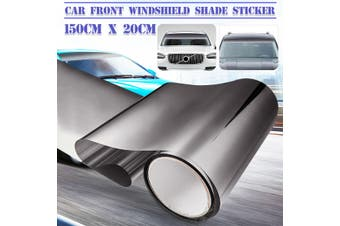150cmx20 Car Front Windshield Sunshade Sticker Window Sun Visor Strip Tint