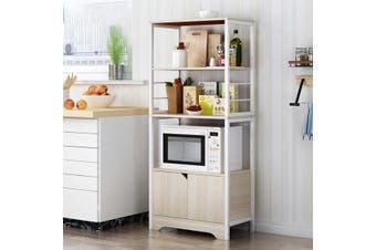 Kitchen Storage Cabinet Microwave Dishes Racks 3 Shelves 4 Tier Shelf