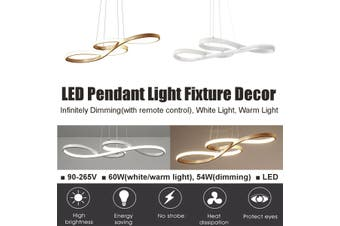 Acrylic LED Pendant Light Chandeliers Ceiling Lamp Bedroom Dimmable Fixture