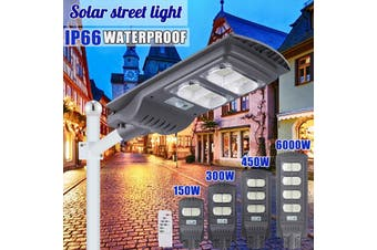 AUGIENB Waterproof Street Light Solar Panel 6500K ~ 7000K Cool White 140/280/420/560 LEDs High-brightness For Street/ Outdoor wall/ Garden/ Courtyard/ Street/ Walkway/ Pathway