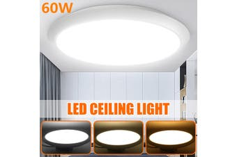 50CM  Round LED Modern Dimmable Ceiling Light Fixture Ceiling Lights for Living Room/Bedroom/Kitchen/Dining Room, Dustproof, Waterproof, Cool White , Nature White , Warm white