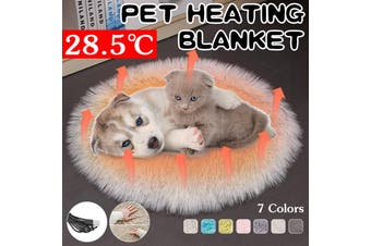 Pet Dog Cat USB Electric Heater Heating Pad Animals Body Warmer Mat Bed Blanket