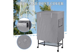 Bird Cage Dustproof Cover Waterproof Oxford Cloth Large Parrot Cage Cover Universal Bird Cage 97x60x130CM