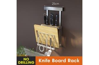 Wall Hanging Storage Rack Holder Mount Organizer Kitchen Dishes Spice