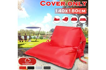 Giant Bean Bag Cover Floor Cushion Pillow Waterproof Lazy Sofa Bed Garden Indoor Outdoor【Only Cover】【NO Fillings】