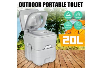 20L Portable Toilet Home Travel Camping Commode Potty Indoor Outdoor