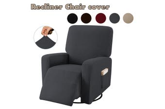 Stretch Recliner Non Slip Chair Sofa Cover Furniture Couch Side Pocket Protector