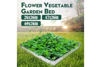 Metal Raised Garden Beds Flower Vegetable Planter Basket Patio Backyard Box