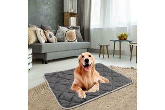 Self Heating Pet Bed Warm Soft Fleece Cushion Mat Pet Washable Pad For Cat Dog