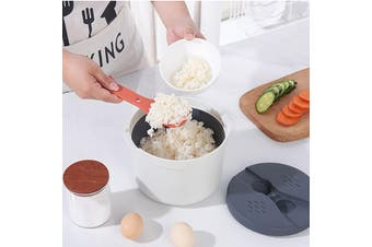 Microwave Rice Cooker Steamer Kitchen Bowl Cooker Tools Food Grade PP Plastic