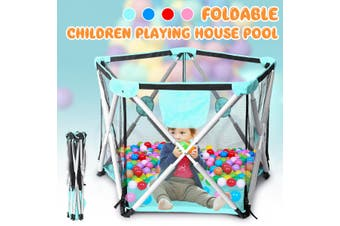 5 Sides Children Play Pen Fence Baby Safety Playing Pool Outdoor Indoor Toddler