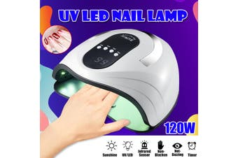 120W 42LED Nail Lamp Nail Dryer UV Light Gel Polish Manicure 4 Modes Art Machine