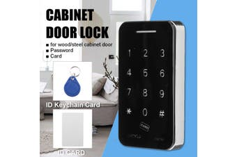 Electronic Cabinet Closet Door Lock Card Digital Password Home Office