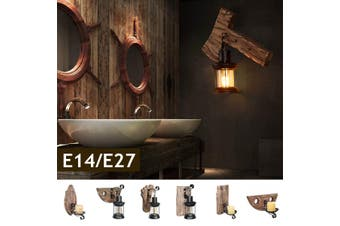 E27 Modern Wall Light Home Bedroom Bar Sconce Lamp Indoor Fixture Decoration