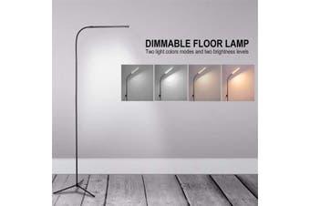 3 IN 1 Dimmable LED Reading Floor Lamp Adjustable DIY Table Desk Light -- Black / White