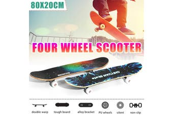"Beginner Skateboard Complete Set Up-Beginner to Pro Boards 31.5/7.9/3.9""(Type A)"
