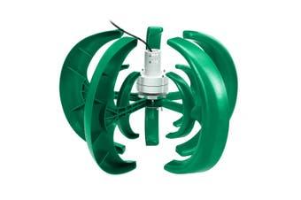 4000W 12V 5 Blade Lantern Wind Turbine Generator Vertical Axis