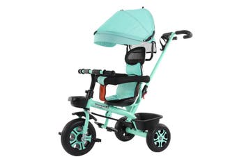 4In1 Infant Tricycle Rotating Seat Baby Stroller 3 Wheel Bicycle Foldable Kids Bikes Three Wheel Stroller Baby Trolley 1-6 years