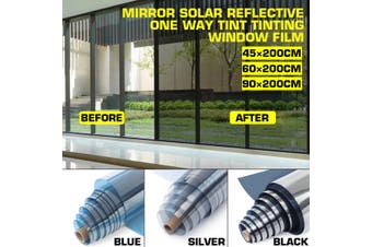 High Quality UV-Proof Explosion-Proof Glass Tinted Mirror Insulation Stickers Solar Reflective Window Film Sticker