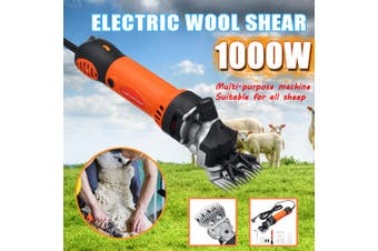 1000W Professional Sheep Shears 6 Speeds Electric Animal Grooming Clippers for Sheep Alpacas Farm Livestock Haircut