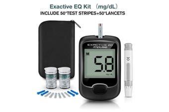 Blood Glucose Monitor Diabetes Testing Blood Sugar Meter With Test Strips Kit (mg/dL Blood Glucose Meter)