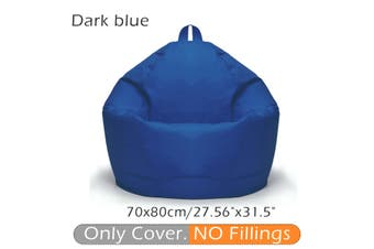 Lazy BeanBag Sofas Cover Chairs No Filler 420D Oxford Kids Baby Seats Lounger Seat Bean Bag Pouf Puff Couch Tatami Living Room