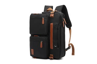 Multifunction Nylon Backpack Shoulder Messenger Bag Waterproof Laptop Business Bags Briefcase
