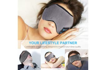 Wireless bluetooth 5.0 Stereo Eye Mask Music Headset Handsfree For Sleeping