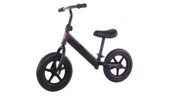 """12"""" Adjustable Kids Baby Balance Bike Ride Toy Push Bicycle Toddler Scooter"""