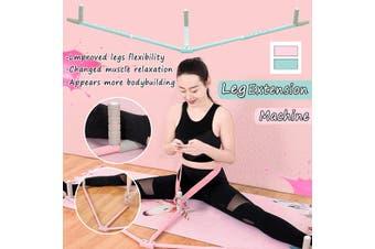 Device Split Leg Extension Machine Flexibility Training Leg Exercise(pink)