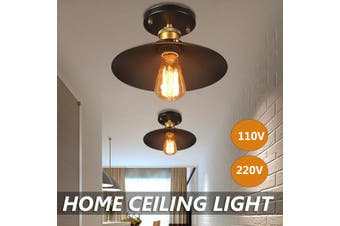 E26/E27 Industrial Ceiling Light Pendant Fixture Lamp Home Living Room Decor