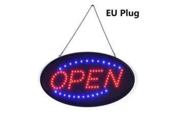 2 Lighting Mode OPEN LED NEON COFFEE Sign Neon Light Flashing Sign Shop Bar