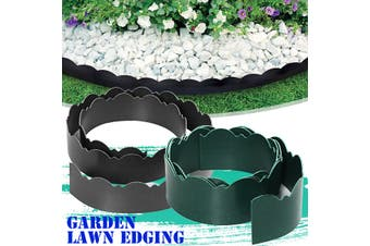Garden Flower Bed Edging Border Edge Landscape Lawn Landscaping Flexible Plastic